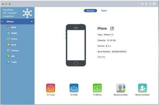 FonePaw iOS Transfer