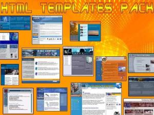 HTML Templates Pack