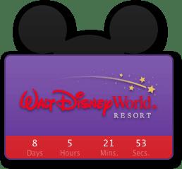 Disney Trip Countdown