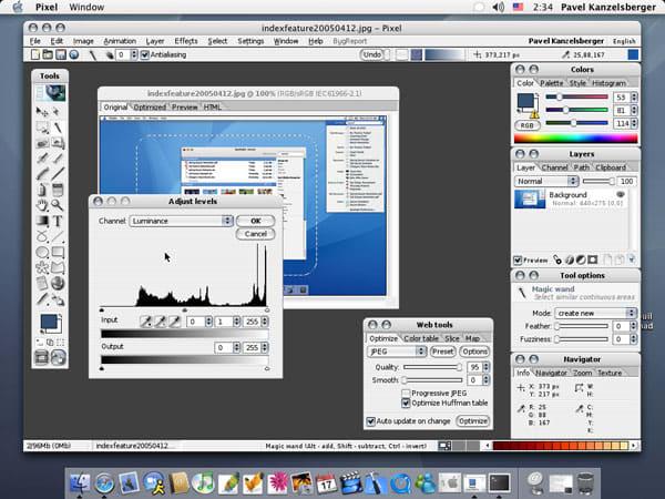 Pixel Image Editor