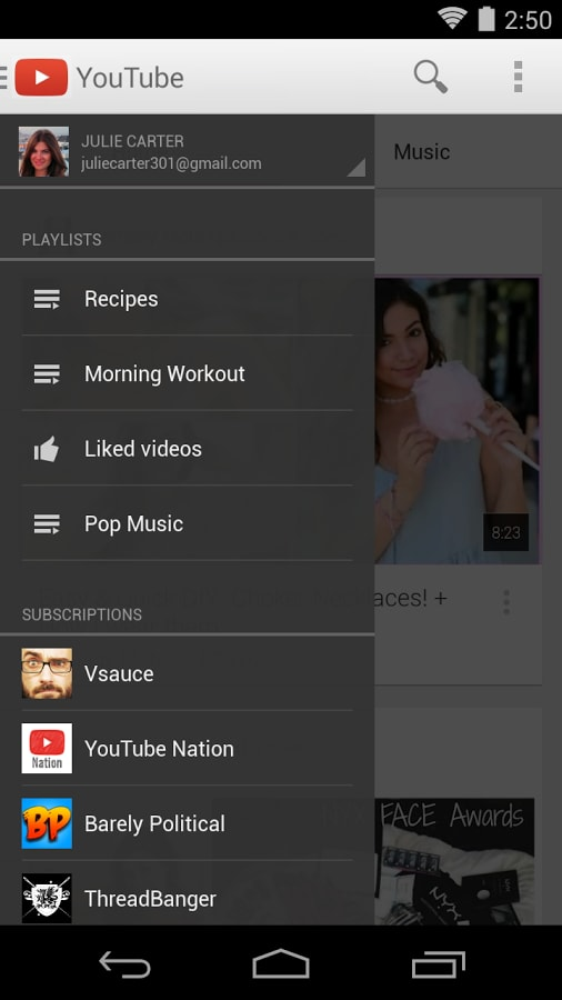 Application Youtube Playlist Télécharger Playlist Youtube: YouTube Para Android