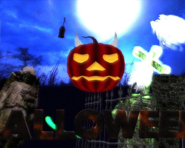 Halloween Haunt 3D Screensaver
