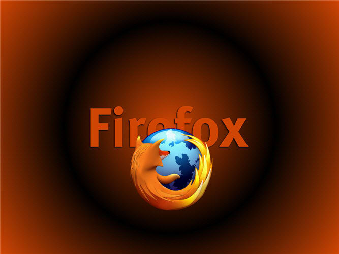 Firefox Red Screensaver
