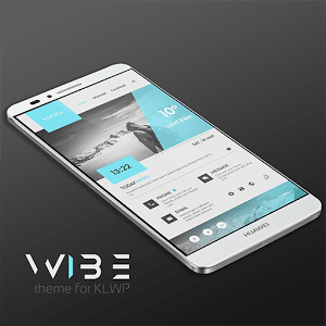 WIBE Theme for KLWP 1.1
