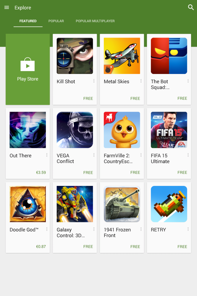 Google Play Games: Google takes over mobile gaming