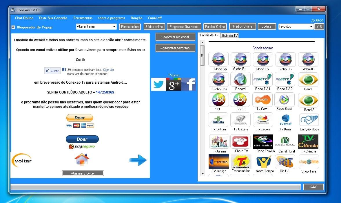 Conexão TV Online