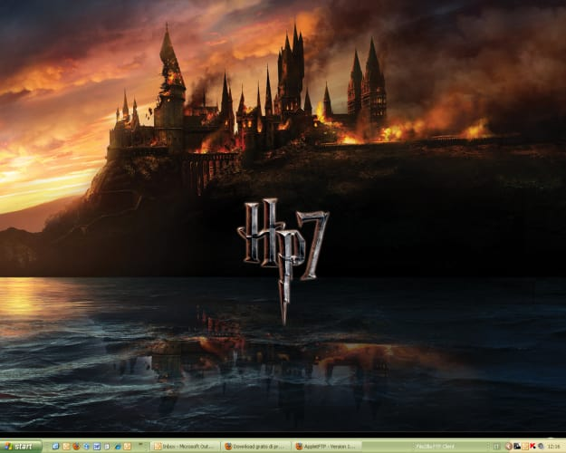 Harry Potter e i Doni della Morte Wallpaper