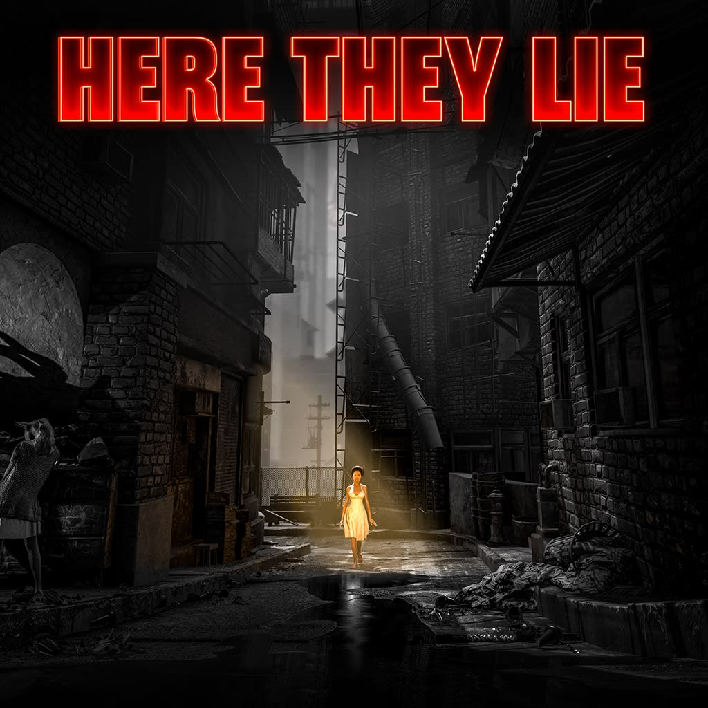 Here They Lie PS VR PS4