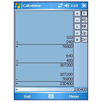 Calculator Mobile