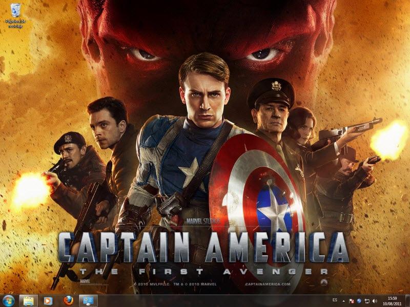 Thème Captain America