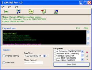 Atelier Web SMS Pro