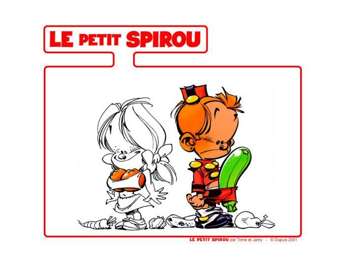 Fond d'écran - Le petit Spirou