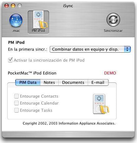 PocketMac iPod Edition