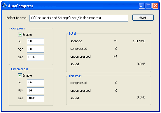 AutoCompress