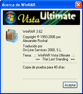WinRAR Vista Ultimate