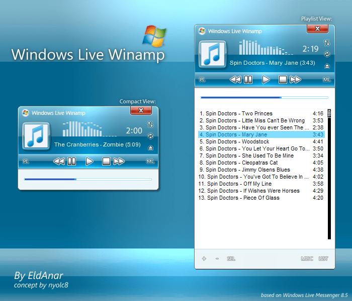 Windows Live Winamp