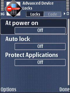 Advanced Device Locks