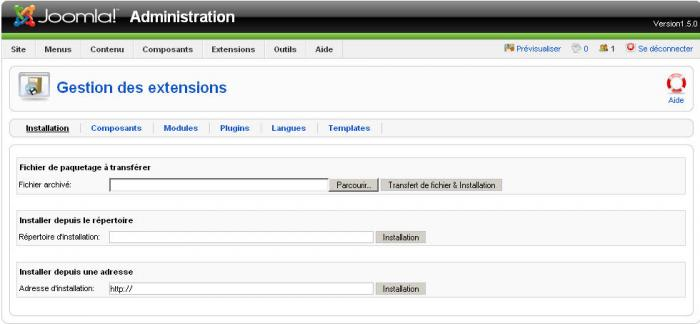 joomla 3 4 logiciel d'installation