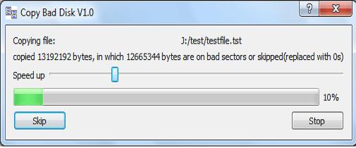 Copy Bad Disk