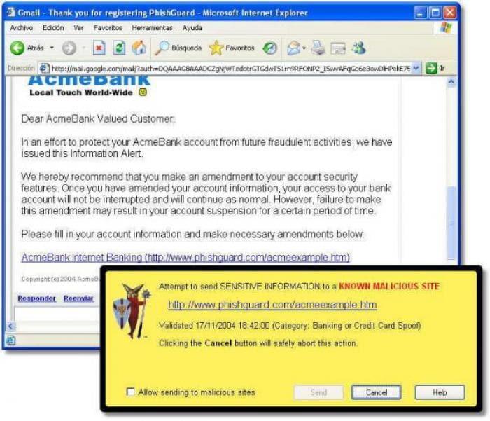 PhishGuard for Internet Explorer
