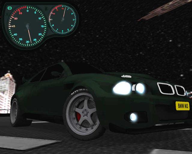 3D Sports Car Screensaver