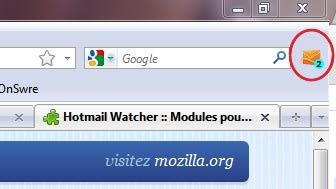 Hotmail Watcher