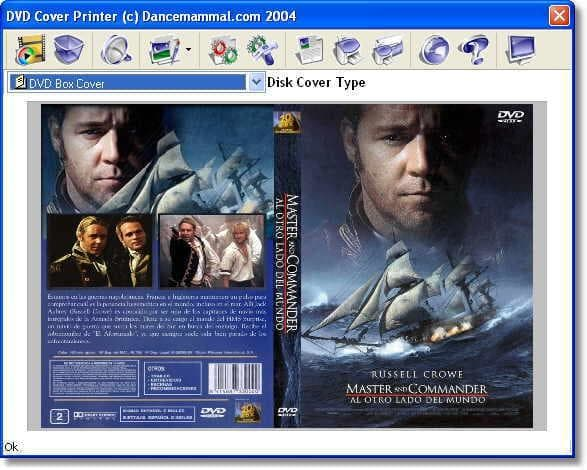 DVD Cover Printer