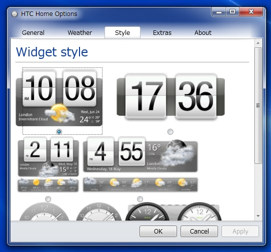 HTC Home for Windows