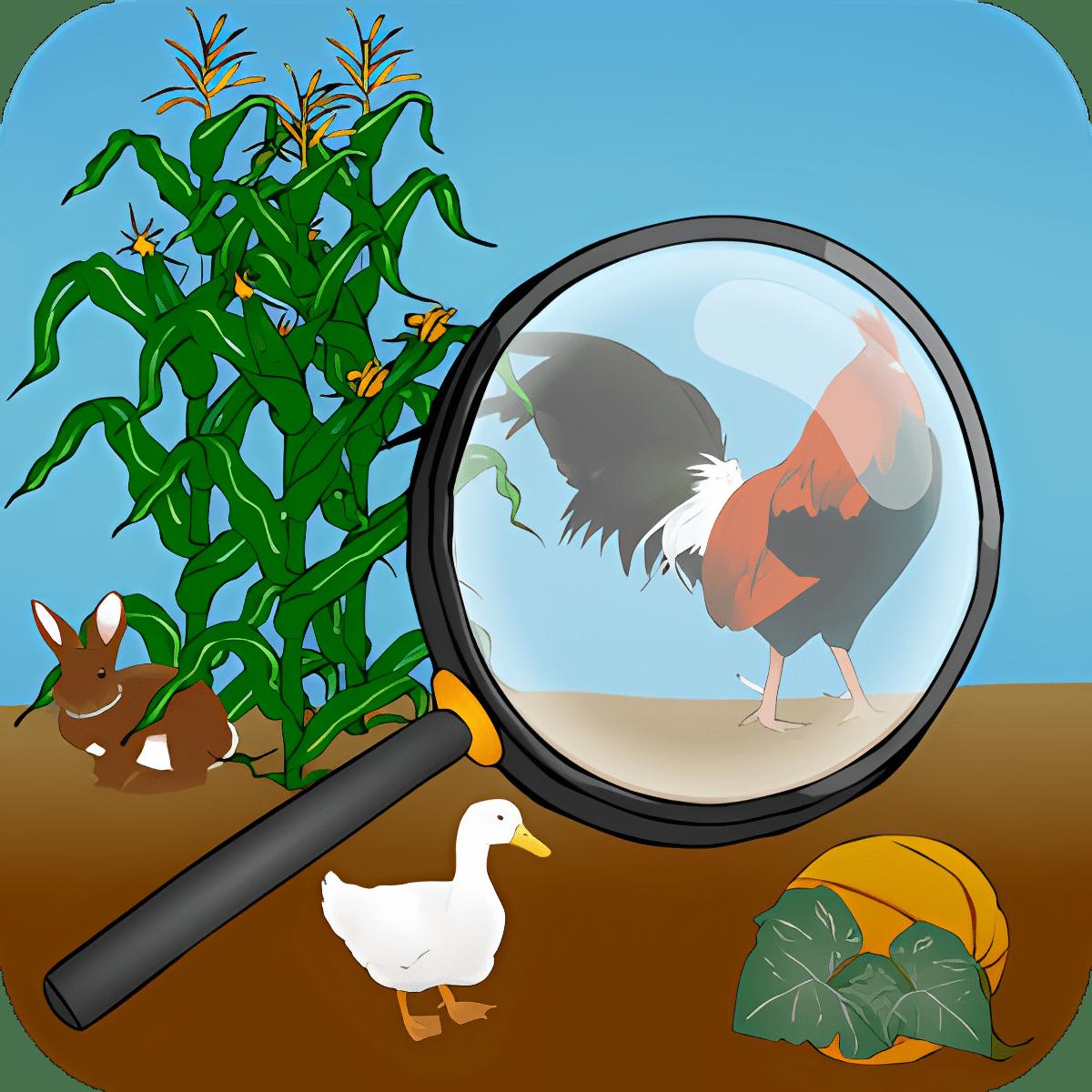 Encuentre los animales ocultos
