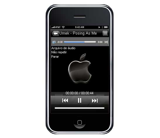 iPhone 3G BSPlayer Skin