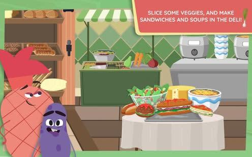 Fruits Vs Veggies  Supermarket