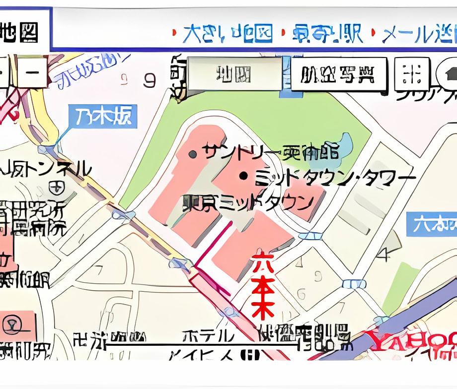 Yahoo!地図 アクセラレータ