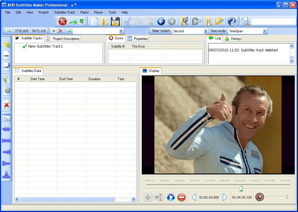AHD Subtitles Maker