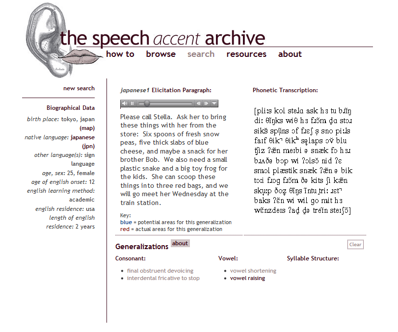 the speech accent archive