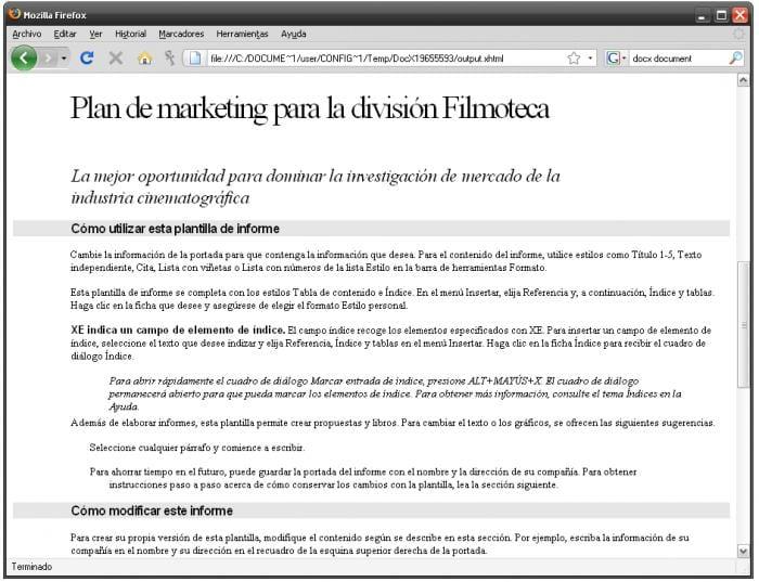 OpenXML Document Viewer - Descargar