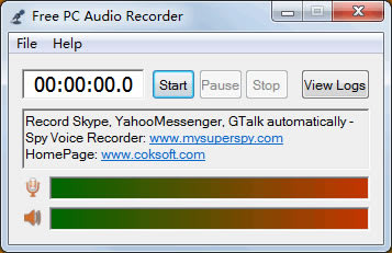Free PC Audio Recorder