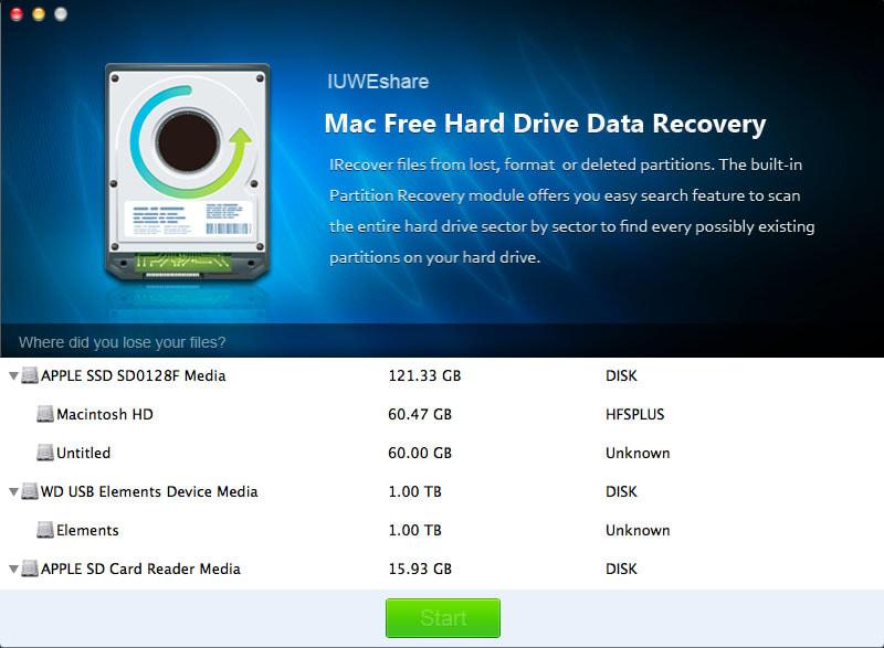 Mac Hard Drive Data Recovery