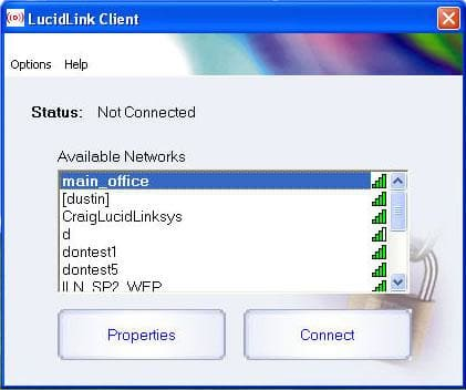 LucidLink Wireless LAN Security