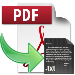 XiXi PDF to Text 3.2