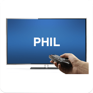 Remote for Philips TV