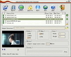 Allok AVI to DVD SVCD VCD Converter