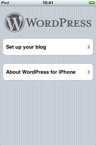 WordPress für iPhone/iPad