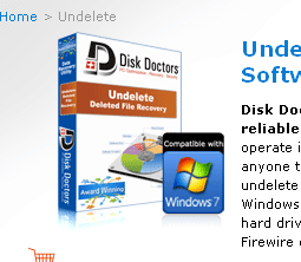 Disk Doctors Undelete