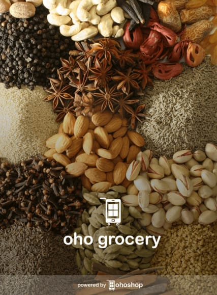 OhoShop Grocery App