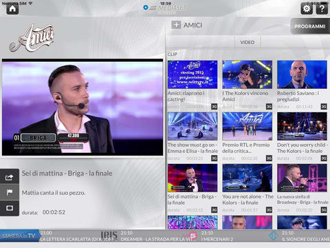 Mediaset On Demand HD