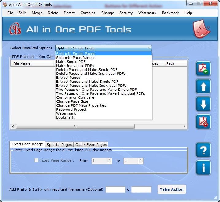 Apex PDF Splitter