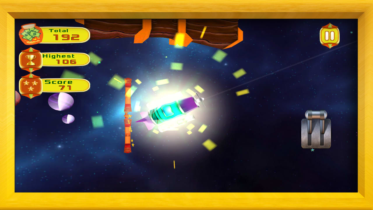 Air Force 3D : Galaxy Dash