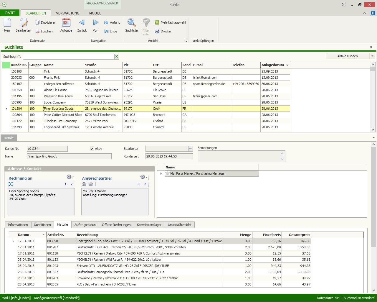 kontor.NET R4 Warenwirtschaft