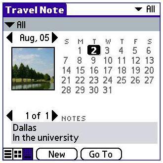 Travel Photo Note