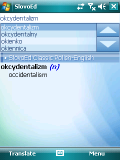 SlovoEd Angielsko-Polski i Polsko-Angielski